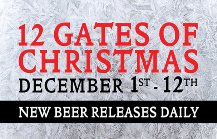 The 12 Gates of Christmas Brings Beer Merriment to 12 Gates Brewing