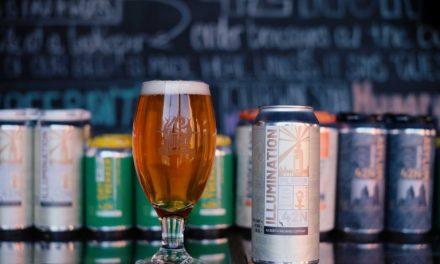 42 North's Illumination Pilsner Receives 'City of Light' Can Release