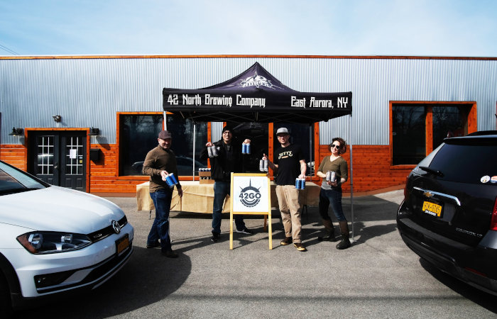 42 North Brewing to Host Virtual Happy Hour with the Brewers