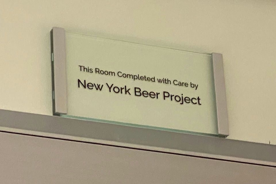 New York Beer Project Gets Their Own Room at Oishei Children's Hospital