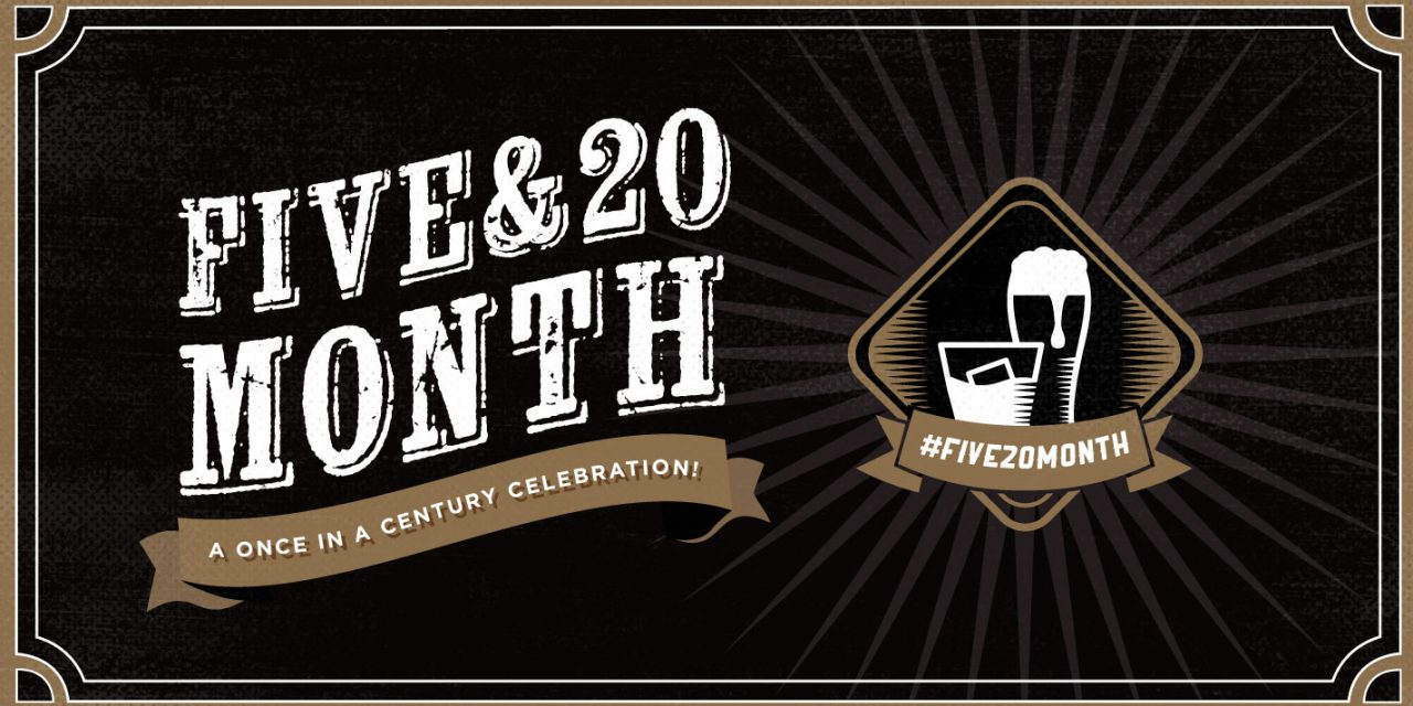Five & 20 Spirits and Brewing to Celebrate Once-in-a-Century Five & 20 Month