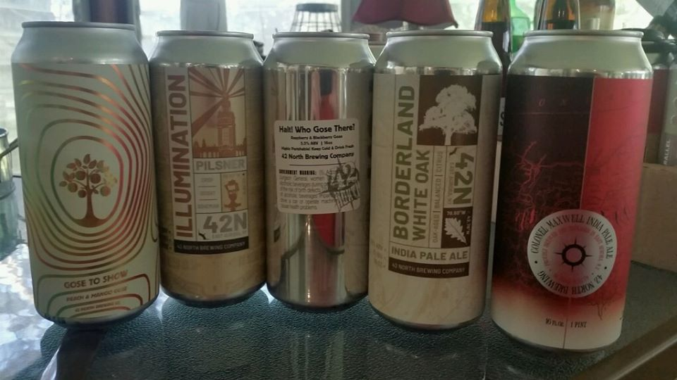 Quarantine Beer Contest: Win a 42 North Brewing Prize Pack