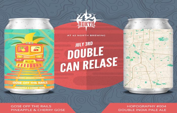 Double Summer Can Release at 42 North for Independence Day Weekend