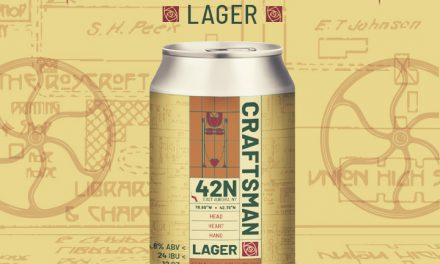 42 North Brewing Launches Craftsman Lager