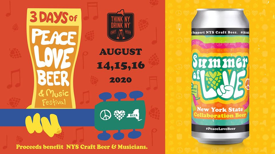 NYSBA's Peace Love Beer & Music Festival Celebrates Music History, Beer Culture