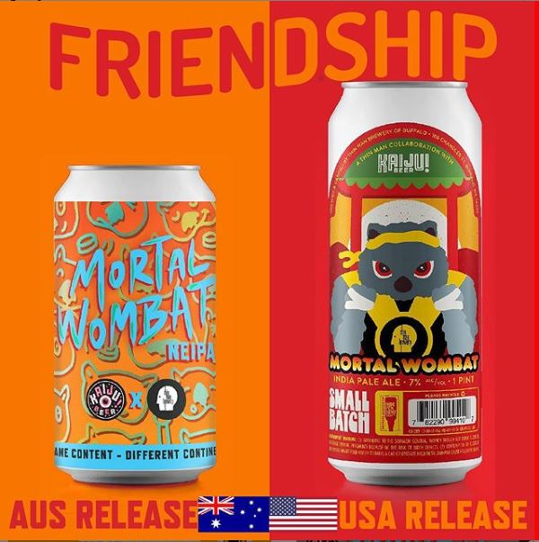 Thin Man Brewery Welcomes New Member of the Wombat Family