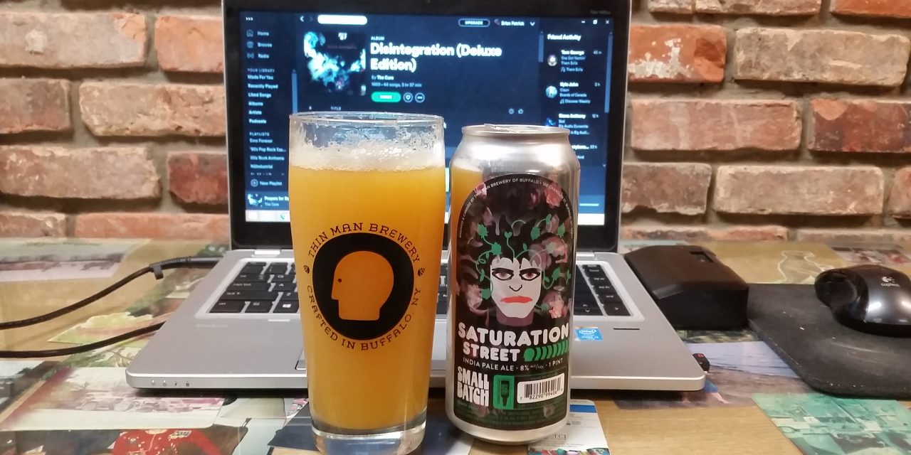 A Beer and a Song: Drinking Along to The Cure's Disintegration With Thin Man's Saturation Street