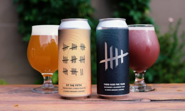 """42 North Brewing Commemorates 5th Anniversary With """"Five With Friends"""" Theme"""