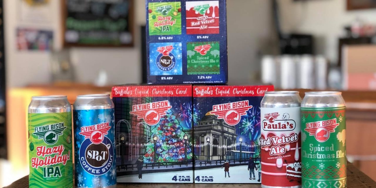 """New Flying Bison Beers Bring Local Holiday """"Cheers"""""""