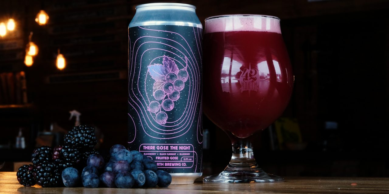 42 North Teams With West Coast-Based Oregon Fruit Products On There Gose The Night