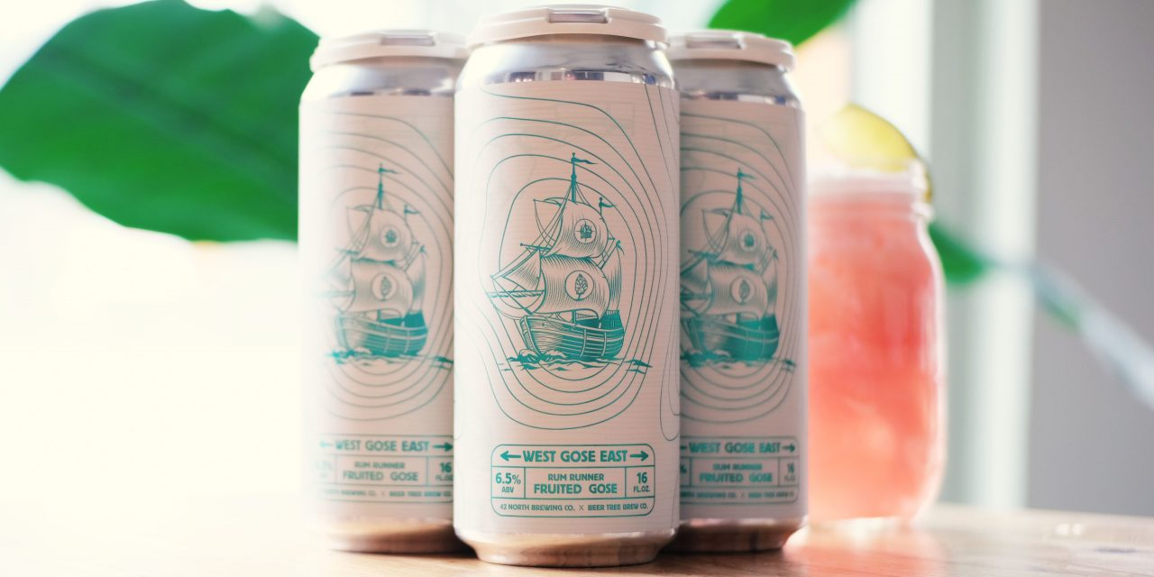 42 North Teams With Beer Tree on West Gose East Fruited Sour