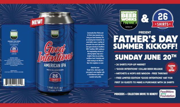 Community Beer Works, 26 Shirts Partner on Big Summer Kickoff Event