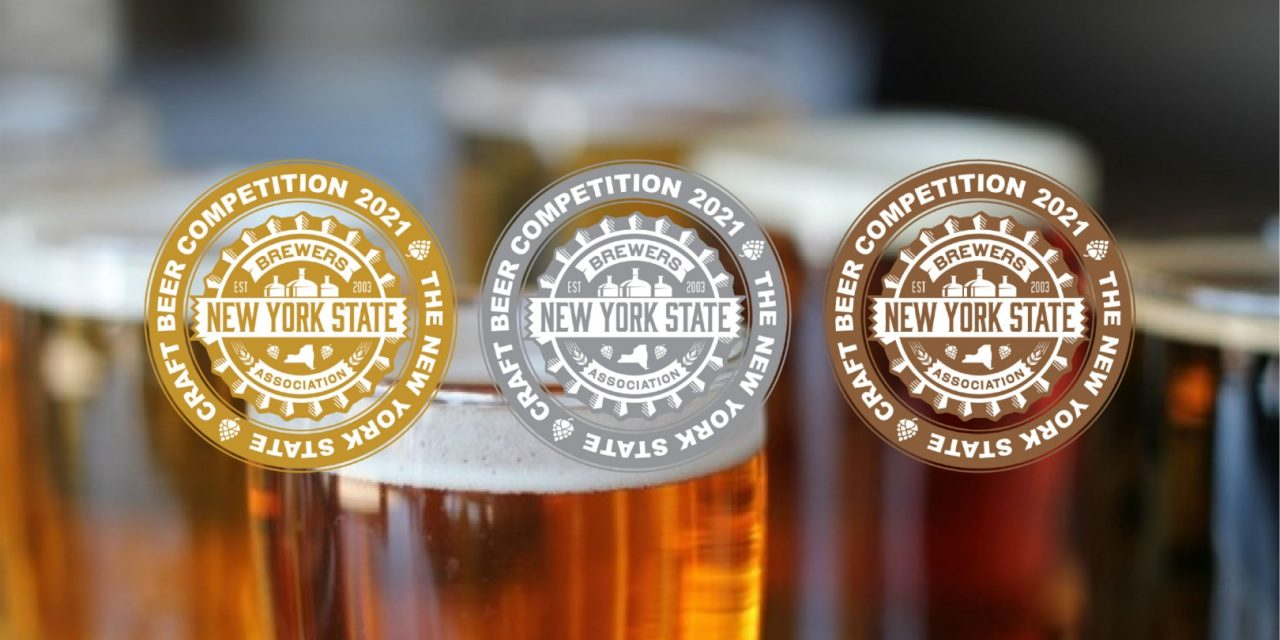 NYS Craft Beer Competition Medal Winners to Be On Display at Eli Fish